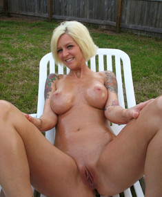 Totally naked busty MILFs and housewives