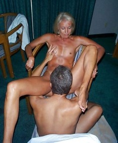 Blonde ex wife with small tits fucks..