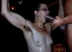 Wild and freaky mature RITA hot BDSM..