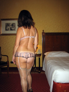 My lovely wife in sexy lingerie and..