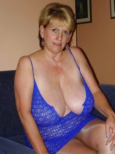 Amateur collection of busty mature..