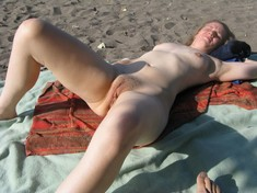 Nudist beach pussy, hot images